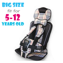 UNIKIDS Kids Car Protection 5-12 Years Old Baby Car Seat,Portable and Comfortable Infant Safety Seat,Practical Baby Cushion
