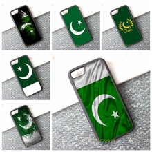 pakistan flag cell phone case cover for iphone 4 4s 5 5s 5c SE 6 6s & 6 plus 6s plus 7 7 plus #2521