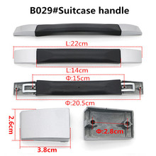 Replacement Telescopic Luggage Parts Handle Hardware Accessories Trolley Suitcase Handle Grip(China)