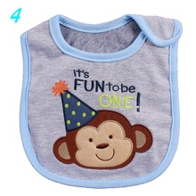 40 Style 0-3 Years Baby Girl Boy Waterproof Cartoon Towel Kids Toddler Dinner Feeding Baby Bibs(China)