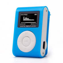 Del  Mini USB Clip MP3 Player LCD Screen Support 32GB Micro SD TF CardBuild-in Li-ion rechargeable battery Sep 28