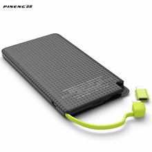 PINENG Power Bank 5000mAh Mobile Phone Fast Charging External Battery Portable Charger Li-polymer Android Iphone - Ali-mart Store store