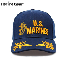 Casual Tactical Militar Baseball Cap Men US Marines Airborne Army Sun Snapback Hat Adjustable Male Fashion Travel Navy Seal Caps(China)