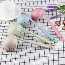 1PCS Multifunctional Soup Spoon With Filter Creative Dinnerware Kitchen Cooking Tools Long Handle Lovely Spoons