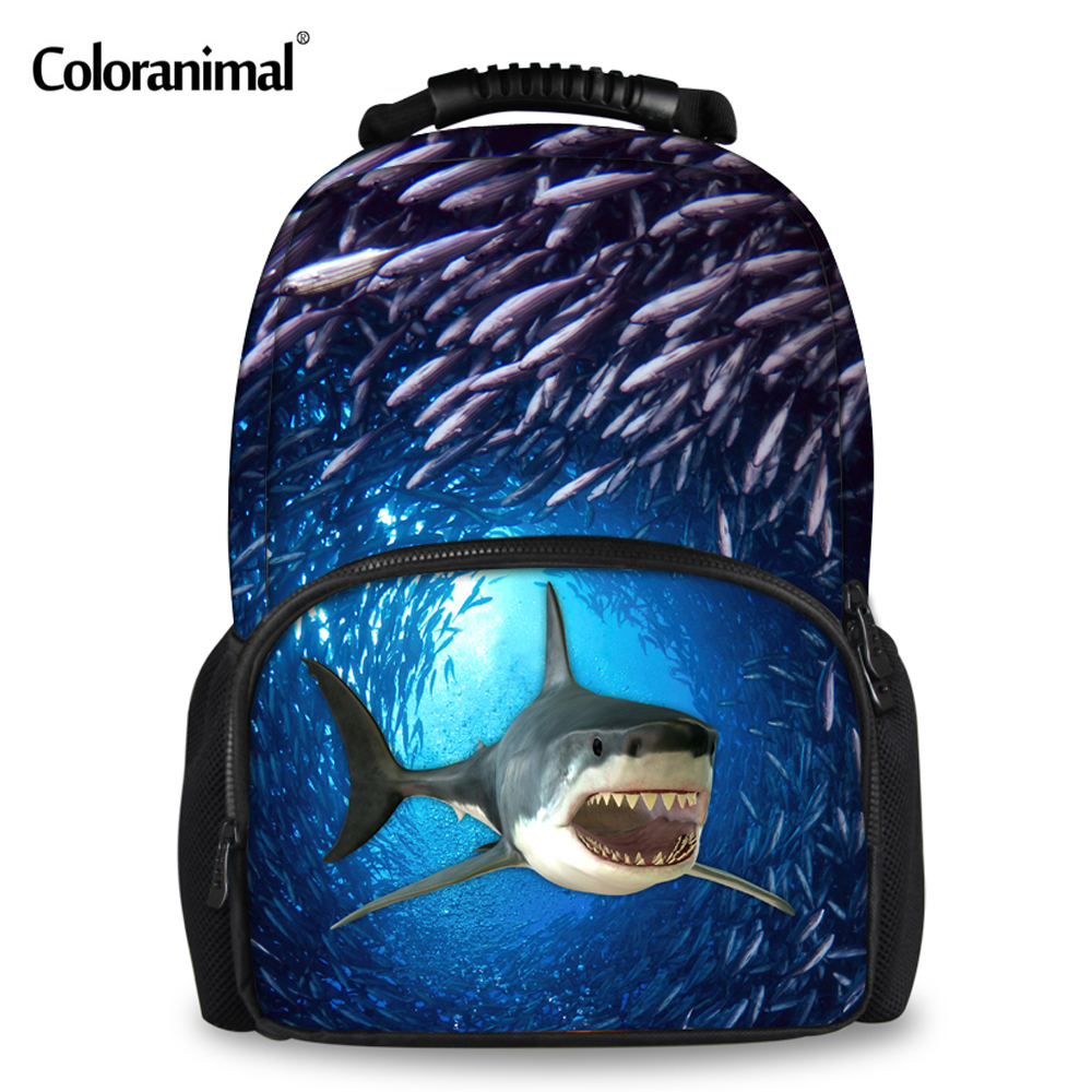 08855516068 Coloranimal Fashion 3D Animal Shark Backpack for Teens Boys Girls School  Bags Women Men Travel Large