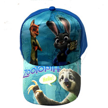 1pcs  kids cartoon  Youkai Watch   Zootopia cosplay Caps girl Baseball hat Cool Boy Hip-hop cosplay Toy