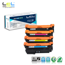 LCL 507X 507A CE400X CE401A CE402A CE403A (4-Pack) Laser Toner Cartridge Compatible for HP Enterprise 500 color M551/N/DN/XH(China)