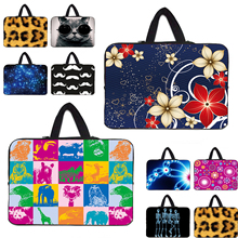 Personilty Design Soft 7 10 12 13 14 15 17 inch Laptop Sleeve Bag Zipper Neoprene Carry Cases For Acer Aspire One 11 13 15 Dell(China)