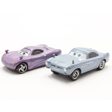 Disney Pixar Cars Finn Mcmissile And Holly Shiftwell 1:55 Scale Diecast Metal Cute Cartoon Movie Toy Car For Children Gift(China)