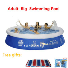 Large Adult Infant Inflatable Swimming Pool Child Ocean Ball Pool Plus Size Vestidos Plus Size Large Plastic Swimming Pools(China)