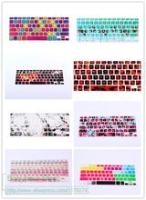 2016 Picture Print 3D US version For Apple Macbook Keyboard Cover 13  15  Laptop keyboard Protector covers