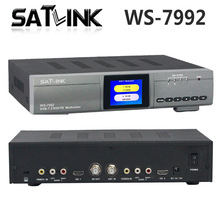 Original Satlink WS-7992 2 Route DVB-T Modulator AV HD Two Router DM Modulator Satlink ws7992 DVB-T HD Digital RF Modulator(China)