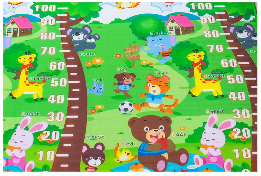 10 mm Thick Double Sides Children Play Mat Waterproof Kids Beach Picnic Mat Soft Eva Foam Carpet Rug Baby Crawling Mat Baby Toy 29