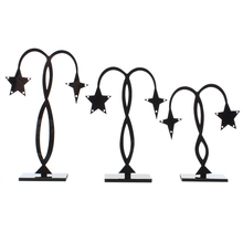 MJARTORIA 2Sets Umbrella Star Bird Jewelry Tree Stand Fashion Acrylic Display For Necklace Ring Earring Holder Jewelry Organizer