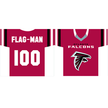 "Atlanta Falcons players jersey Flag 30""x34"" double side 100D Polyester jersey Banner(China)"