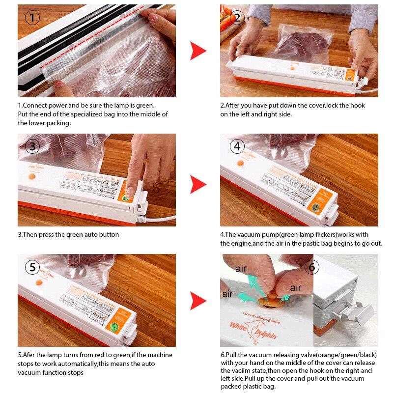 Haushalt Lebensmittel Vakuumierer Verpackungsmaschine Sealing ...