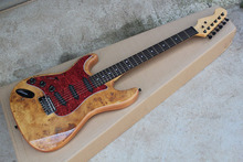 Free Shipping Custom Shop ST Strat Stratocaster Red Electric Guitar With 3 sss Pickups Left Handed Guitar @31(China)