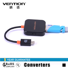 Hot Sales Vention Slimport Micro USB to HDMI Adapter 2D to 3D HDMI Converter for Cellphone Computer(China)