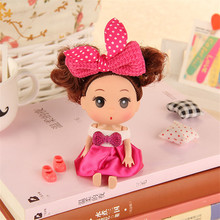 Korean Style Girls Plastic Classic Best Gift Figure 1pc 12cm Cute Beautiful Toy Moveable Joint Body Fashion Dolls