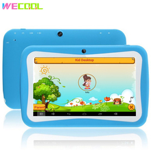 WeCool 7 inch Quad Core Kids Tablet PC for Children 8GB Quad Core Android 5.1 BabyPAD with Educational Games Designed for Child(Hong Kong)