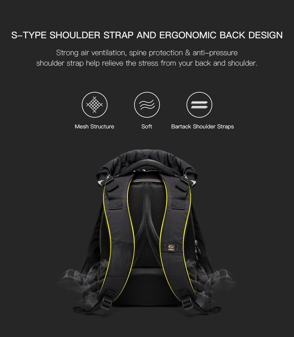5Laptop Backpack