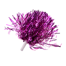 Party Costume Sports Cheerleader Party Favors Flower Ball Pom Poms Hot New rose red(China)