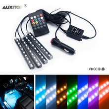 1 Set Car Atmosphere Lights For VW Polo BMW E46 Ford Focus Lada Granta Toyota Corolla Honda Civic Audi A3 Renault Opel Hyundai
