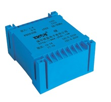 PU3917B Manufacturer Double input and UI type output 20VA 2*110V 2*6V PCB encapsulated transformer