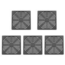 5pcs/lot 120mm Case Fan Dust Filter Guard Grill Protector Dustproof Cover PC Computer fans Filter Cleaning Case Wholesale Price(China)