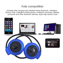 New TF+FM+MP3 A2DP mini sport wireless headphones Music Stereo Bluetooth Earphones Headsets hands-free call for iphone Laptop