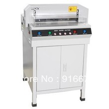 Fast Free Shipping Hot New Electric Digital Semi-Auto Previous Stack Thick Paper Cutter Cutting Machine