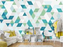 3d wallpaper custom mural non-woven photo Fashion geometric polygon decoration painting 3d wall murals wallpaper for walls 3 d