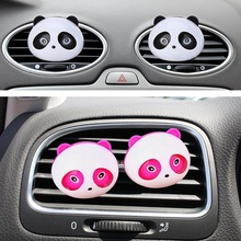 2pcs Car perfume car air freshener perfumes freshener parfum cologne fragancias porcelain car styling fragrance(China)