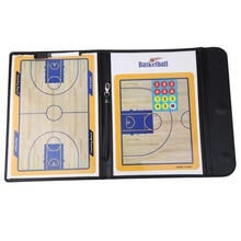 Coaching Board Foldable basketball Tactic Board Magnetic Coach Tactical Plate Book Set with Pen Clipboard basketball Supplies(China)