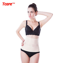 Tcare Magnetic Therapy Waist Support Brace Belt Far Infrared Slimming Belt Waist Trainer Tummy Control Waist Shaper for Women(China)