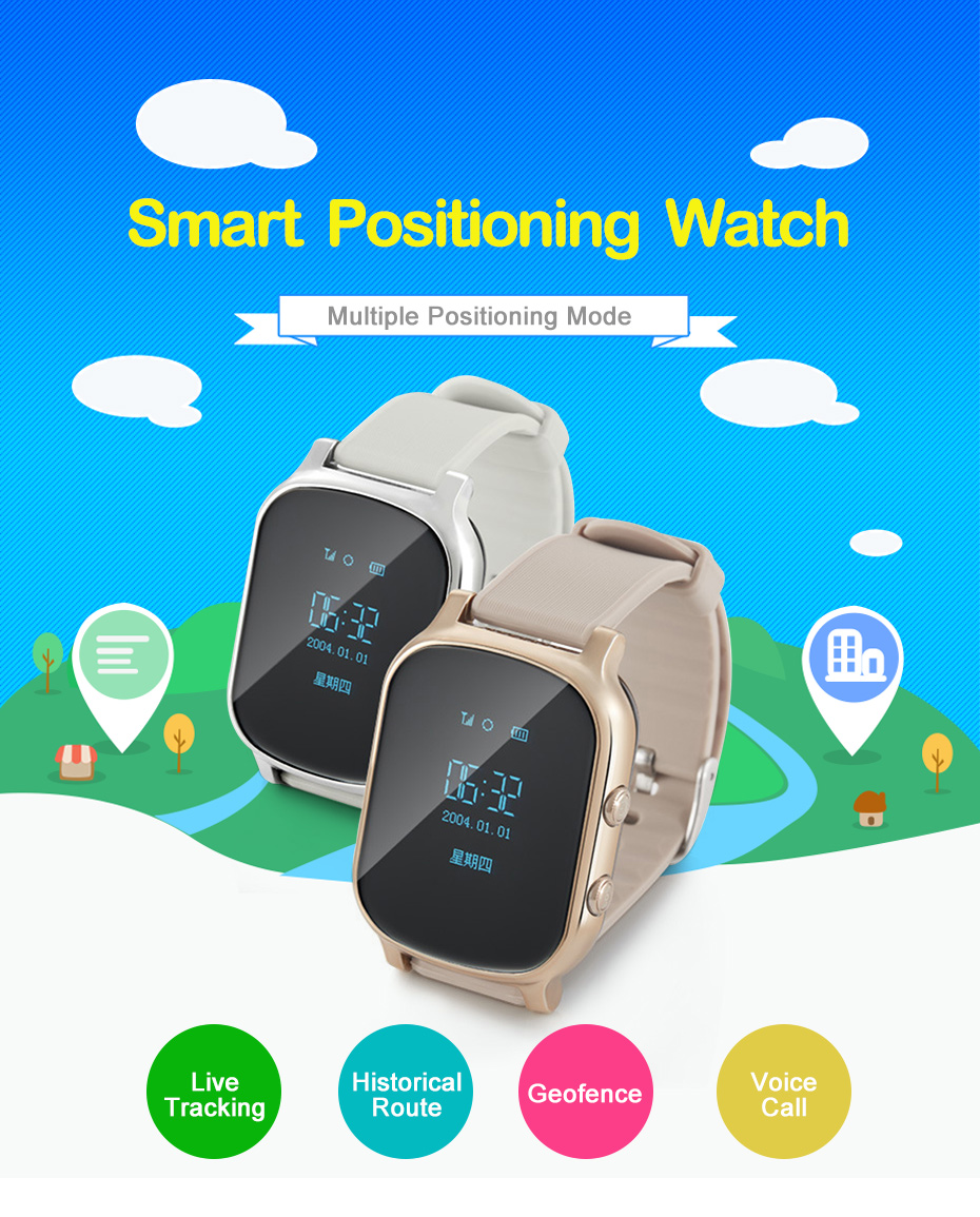 Smart Watches Historical Route Gps Tracker Smart Watch For Kids Live Tracking Kids Smartwatch With Sim Card For  Xiaomi (1)