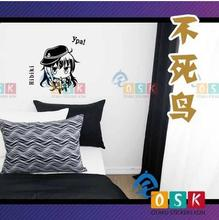 Japanese Cartoon Fans Kantai Collection Hibiki Vinyl Wall Stickers Decal Decor Home Decorative Decoration119