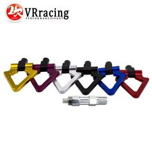 VR RACING - Billet Aluminum Tow Hook F&R Triangle Ring Towing Hook For BMW MINI COOPER F10 F11 F25 F26 3/4/5 SERIES VR015