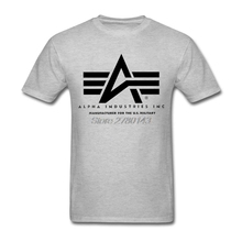 alpha industries T Shirt Sale Logo Shirts Man White Short Sleeve Big Size