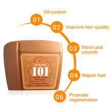 New Brand 101 Hair Conditioner 280ML Beauty Hair Care Professional Herbal Ginger Nourishing And Hair Growth Hair Mask KF033