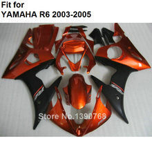 MOTOMARTS ABS plastic fairing for Yamaha fairings YZFR6 2003 2004 2005 wine red black bodywork parts fairing kit YZF R6 03 04 05