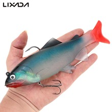 20cm 130g Big Size Simulate Fish Lure Deep Sea Fishing Lures Swimbait Isca Artificial Soft Bait Lure Fishing Accessories(China)