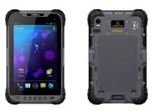 "7"" Android Industrial Rugged Tablet PC 1D 2D Laser Barcode Scanner Handheld Terminal Reader IP68 Waterproof USB OTG PDA"