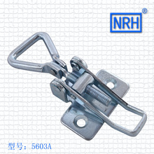 NRH 5603A GB cold rolled steel latch clamp Factory direct sales Wholesale price high quality thread adjustable Latch Clamp hasp(China)