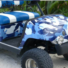 Blue Jumbo Camo Car Scooter Vinyl Wrap Urban Sticker Bomb Camouflage Printed Graphics Pvc Material Roll Sheet(China)