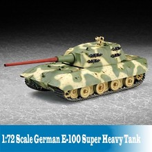 1:72 Scale Tank Model German E-100 Super Heavy Tank Model Assembly Builind Kits Tank Model DIY 07121
