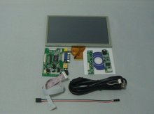 8 inch LCD screen HDMI+VGA+2AV Driver board 800*480 AT080TN64 display  with touch panel