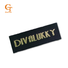 customized personality logo brand garment labels, clothes clothing woven labels , embroidered clothing main labels tags,1000pcs