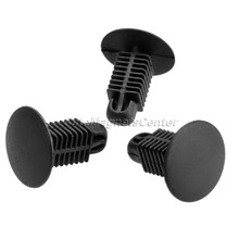 50Pcs 8x7.5mm Hole Cars Push Type Rivets Ceiling Inside Decorative Retainer Door Trim Auto Fastener Clips Fender Kits For Toyota