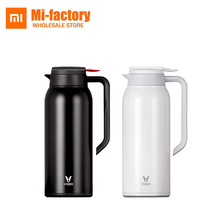 1.5L Big Capacity Xiaomi VIOMI Stainless Steel Bottle Thermos Water Vacuum Bottle Cup Flask Pot 24h Keep Warm For Home Office(China)
